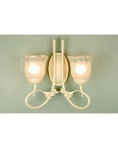 Elstead BATH/OV2 I/G Olivia bathroom double wall light I.P44