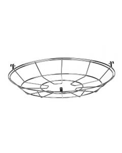 David Hunt Lighting REC0995 Reclamation Cage For Pendant In Polished Chrome