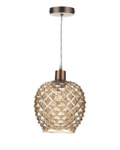 Dar MOS6535 Mosaic Non Electric Champagne Gold Shade