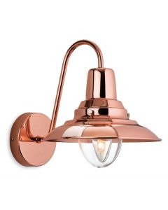 Firstlight 8686CP Fisherman 1 Light Wall Lantern in Copper Finish
