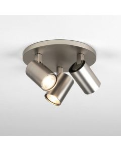Astro 1286012 Ascoli Triple Round Spot Light In Matt Nickel