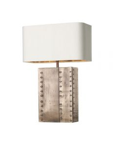 David Hunt Lighting RIV4364 Rivet Table Lamp In Copper, Base Only