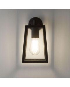 Astro 1306001 Calvi 1 Light Outdoor Wall Light in Painted Black