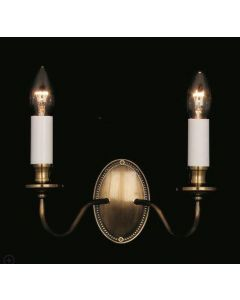 SMBB00052/LB Georgian bronze double wall light