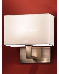 W979 One Light Wall Light With Bronze Finish