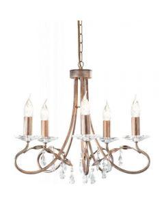 Elstead CRT8 Christina 8 light chandelier