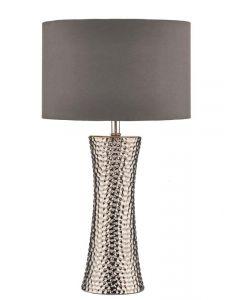 Dar BOK4232/X Bokara Table Lamp with Shade