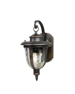 Elstead STL2/M St Louis Ext Medium Wall Lantern in Weathered Bronze