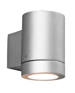 Astro 1082003 Porto Plus Low Energy Single Silver Outdoor Wall Light