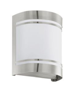 30191 Cerno Outdoor Stainless Steel Flush Wall Light