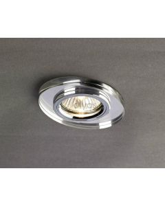 Diyas IL30808CH Clear Slim Crystal Downlights Fascia