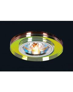 Diyas IL30806MC Spectrum Crystal Recessed Round Downlights Fascia