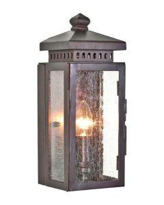 Elstead MATLOCK wrought iron exterior wall lamp, IP23