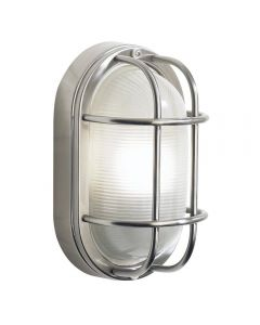 Dar SAL5244 Salcombe Outdoor Wall Light In Stainless Steel