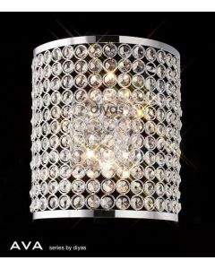 IL30199 Ava 2 Light Crystal Wall Bracket