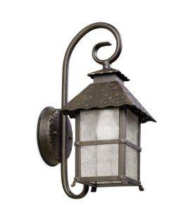 Persefone Outdoor 1 Light Aluminium Downlight Wall Lantern - 2 Only