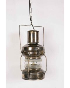 Large Anchor 421 Traditional Solid Brass 1 Light Lantern