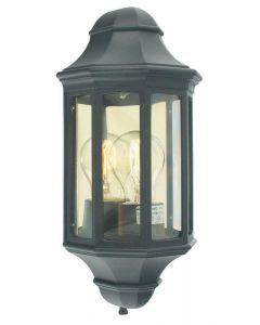 Norlys M8/2 Mini Malaga flush wall lantern, IP43