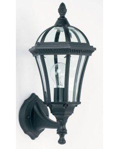 Endon YG-3500 Exterior Wall Lantern In Black
