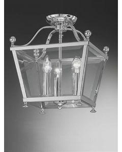 L7002/3 Everett 3 Light Chrome Hanging Lantern
