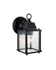 Firstlight 8666BK Coach 1 Light Wall Light Lantern In Black