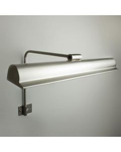 Frame Mounted Picture Light in Brushed Nickel - Harvard 50cm