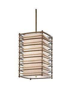 KL/MOXIE/FP/L Moxie Bronze 4 Light Large Ceiling Pendant
