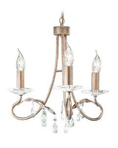 Elstead CRT3 Christina 3 light chandelier