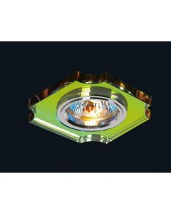 Diyas IL30809MC Spectrum Crystal Concave Corner Downlight Fascia