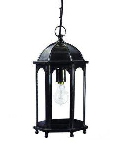736 Small Solid Brass Duomo 1 Light Hanging Lantern