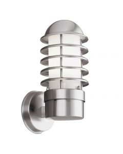 Searchlight 051 Maple Stainless Steel Outdoor Wall Light | IP44
