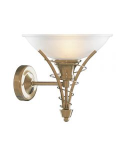Searchlight 5227AB Linea Antique Brass Wall Light