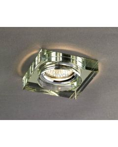 Diyas IL30822WI White Wine Crystal Recessed Square Downlight Fascia