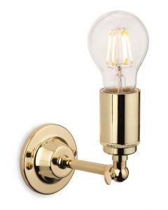 Firstlight 7650BR Indy 1 Light Wall Light Polished Brass