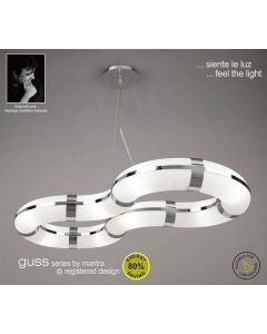 M8646 Guss Low Energy 8 Light Ceiling Pendant