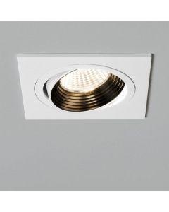 Astro 1256005 Aprilia Square Adjustable LED White Finish Downlight