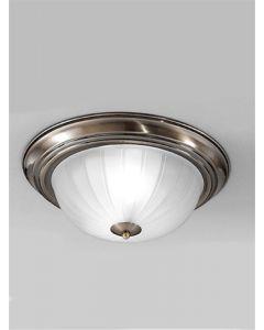 C5643 Flush Ceiling Light With Bronze Finish