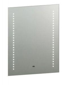 13759 Spegel LED Illuminated Bathroom Mirror in Matt Silver