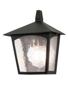 Elstead BL15 York exterior black flush wall lantern, IP43