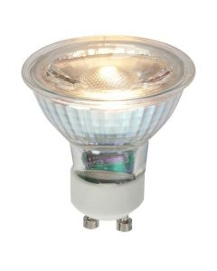 High quality 5 Watt GU10 COB LED Dimmable Warm White