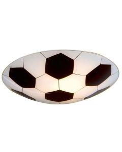 87284 Junior1 1 Light Child's Flush Ceiling Lamp