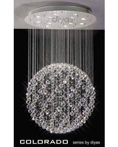 IL30782 Colorado 13 Light Crystal Ceiling Pendant