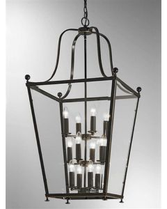 L7005/12 Everett 12 Light Bronze Hanging Lantern