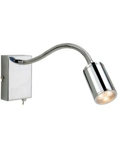 Firstlight Orion LED 3454CH Chrome Flexible Wall Reading Light