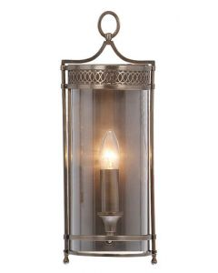 Elstead GH/WB Guildhall Dark Bronze Period Wall Lantern