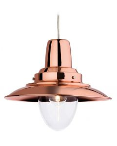 Firstlight 8645CP Fisherman Ceiling Pendant Light in Copper Finish
