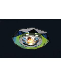 Diyas IL30814MC Spectrum Crystal Recessed Hexagonal Downlight Fascia