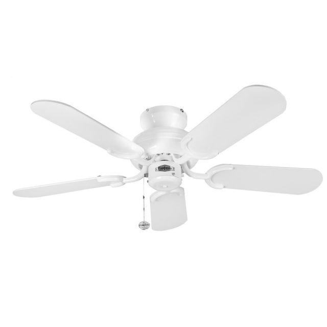 "Fantasia 110200 Capri 36"" Ceiling Fan In White"
