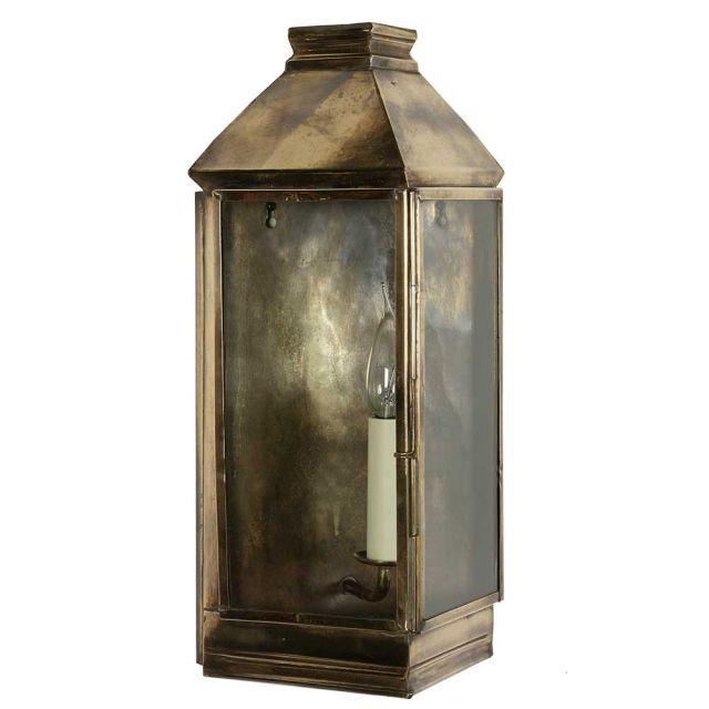 504 Greenwich Hall Lantern 1 Light Exterior Wall Light