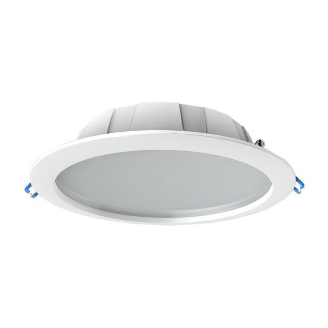 Mantra M6394 Graciosa LED Small 3000K Downlight In White - Cut Out: 120mm